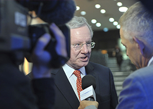 "Malcolm Stevenson ""Steve"" Forbes CEO Forbes Inc. and editor-in-chief of Forbes Magazine"